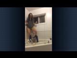 Одевание презика с водой на голову, The Condom Challenge, гандонное испытание :D прикол