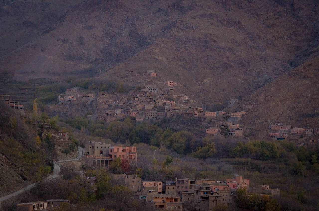 Горная деревня Имлиль