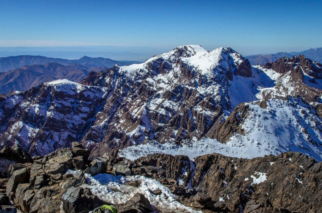Вершина атласских гор