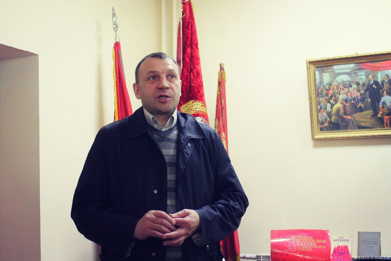 Глава города Арамиль Владимир Герасименко