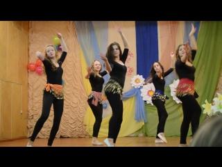 Спортивная школа Вытегорского района. Спортивная аэробика. Старшая группа, участие в концерте к Дню матери организаторы Белоус