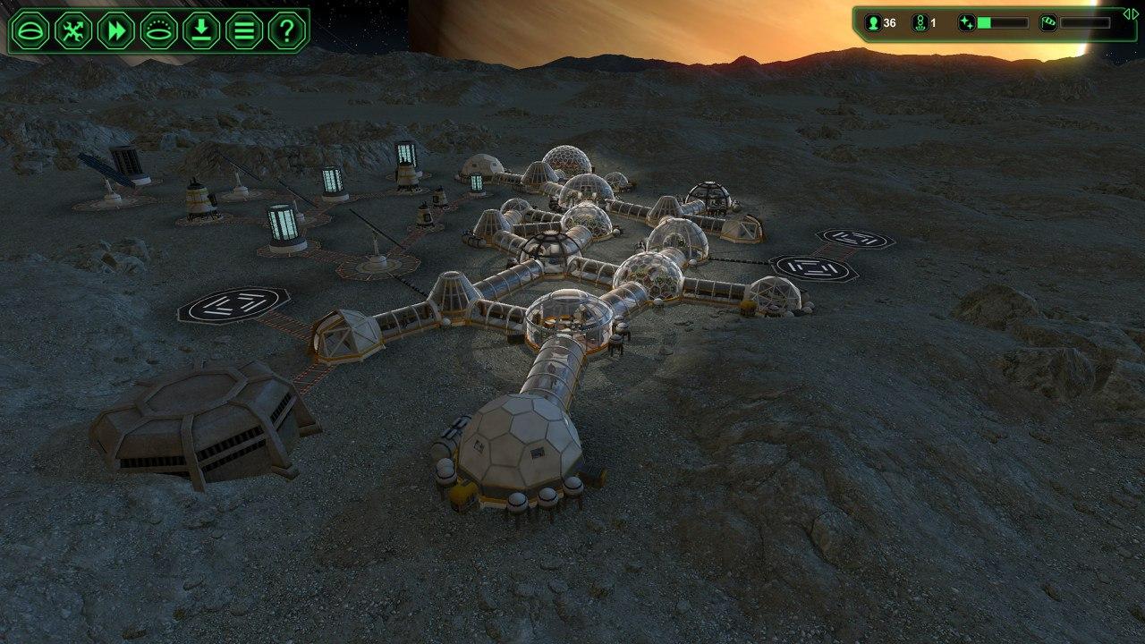Planetbase (2015) PC - Скриншот 3