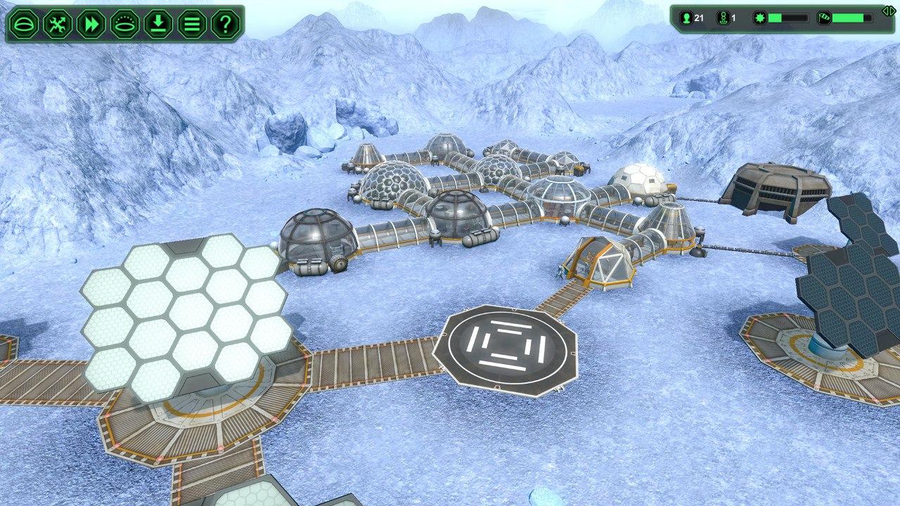 Planetbase (2015) PC - Скриншот 2