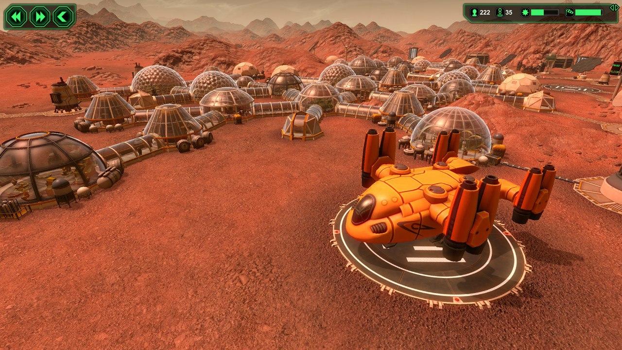 Planetbase (2015) PC - Скриншот 1