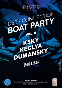 Deep Connection Boat Party Vol2