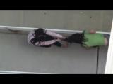 стриптиз на балконе / модели женщины лесбиянки девушки девочки малолетки голые порно секс эротика
