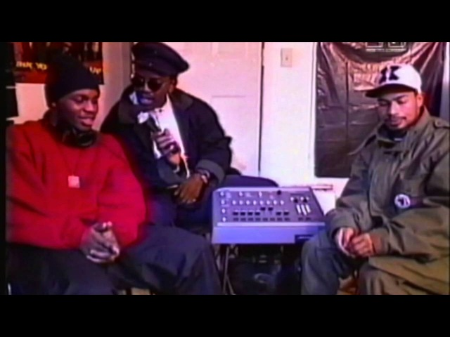 DITC Yo! MTV Raps 1993 Lord Finesse, Showbiz AG, Big L, Roc Raida, Diamond, Black Sheep