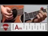 Johnny Cash - Hurt | How to play. Guitar Lessons || Уроки игры на гитаре с нуля для начинающих