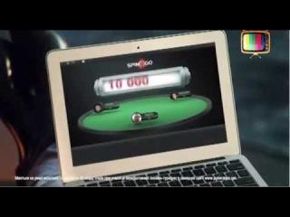 Реклама Спин энд гоу от Покер старс турниры