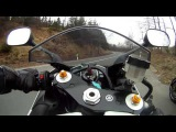 Парень отжигает на Ямахе Р1 в Германии YAMAHA R1