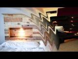 Мир поделок и самоделок кровати из старых деревянных поддонов Необычная мебель из массива сделай сам