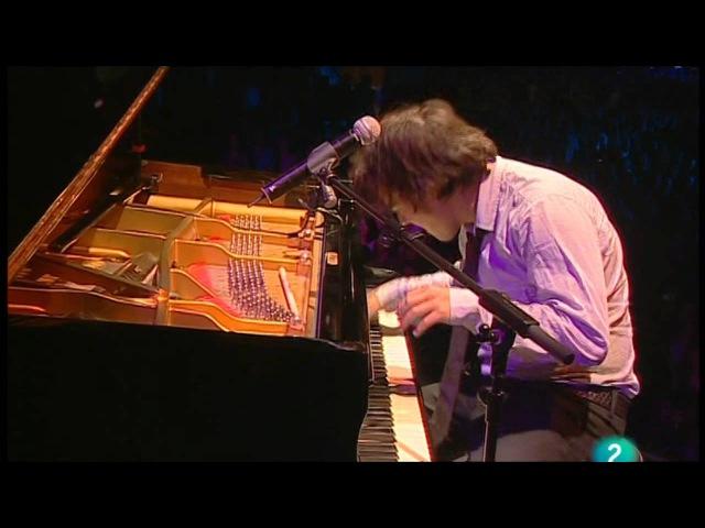 Jamie Cullum Get Your Way live at 44 Festival de San Sebastian Heineken Jazzaldia 26 07 09
