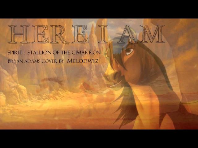 HERE I AM Spirit Stallion of the Cimarron FEMALE COVER