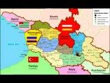 The future map of Georgia, Будущая карта Грузии,მომავალი საქართველოს რუკა