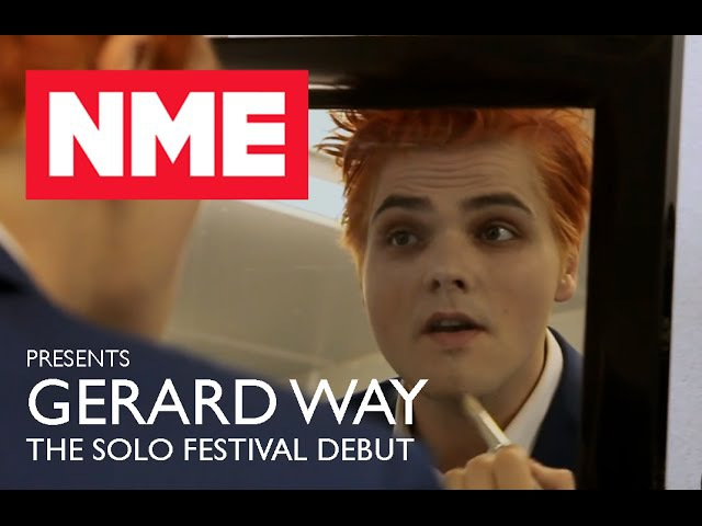NME Presents The Story Of Gerard Ways Solo Festival Debut