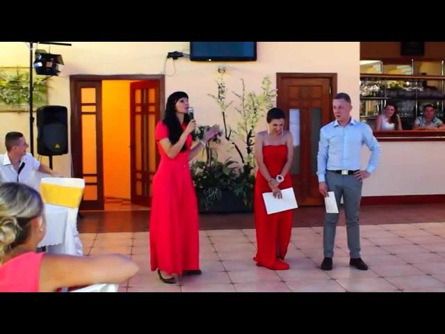 Улетный свадебный конкурс(песня про кузнечика в стиле рэп,рок,шансон и опера) супер видео