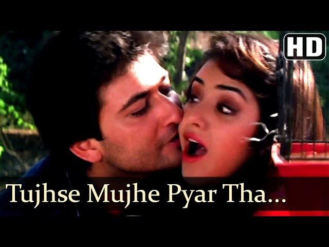 Tujhse Mujhe Pyar Tha Pyar Hai - Avinash Wadhawan - Divya Bharti - Geet - Bollywood Songs