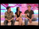 Bradley James, Colin Morgan & Katie McGrath at T4 [September 6th 2009]
