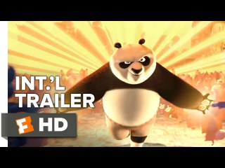 Кунг-фу Панда 3 трейлер №3 Kung Fu Panda 3 Official International Trailer #1 (2016) - Jack Black, Angelina Jolie Animation HD