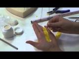 Керамическая флористика.  Мастер класс по керамической флористике Одуванчик