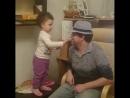трудно быть суровым когда у тебя двухлетняя дочь