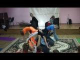 Акро-йога-флешмоб, 19.12.1015