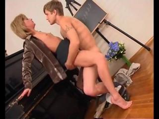 русское домашнее порно секс с учительницей