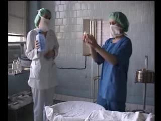 Техника обработки рук операционной сестры