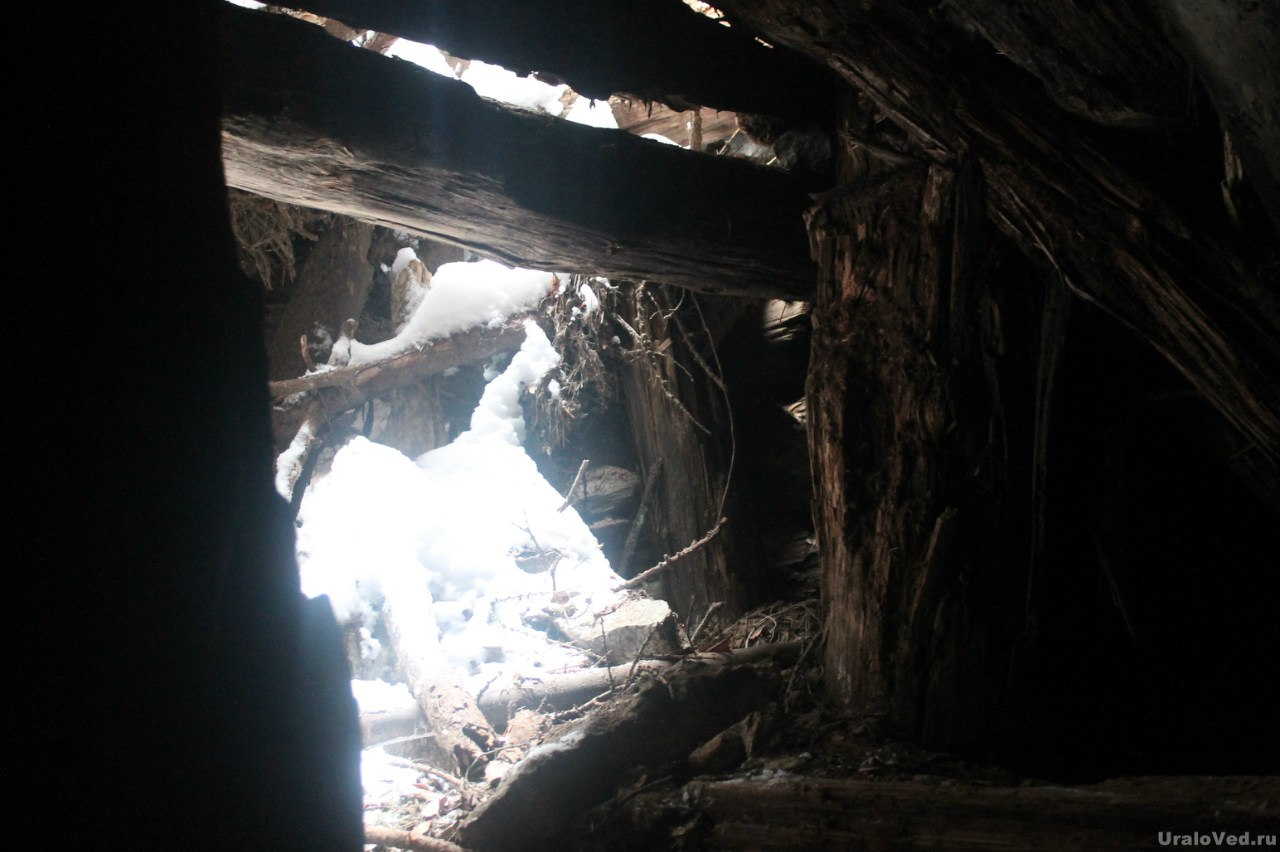 Штольня рудника