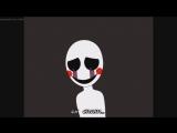 Пять ночей с фреди анимация Painted Faces песня на русском-перевод