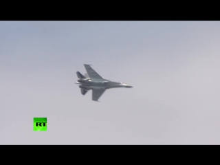 """Су-35 потряс """"Ле Бурже""""׃ это не самолет, это просто НЛО! (видео полёта)"""