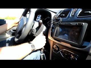 Новый Renault Logan Тест-драйв.Anton Avtoman.