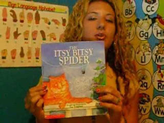 Story Time--The Itsy Bitsy Spider