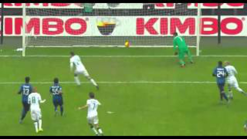 Inter-Sassuolo 0-1 gol Domenico Berardi (10-01-2016) Serie A