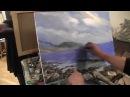 Морской пейзаж, художник Игорь Сахаров, уроки рисования