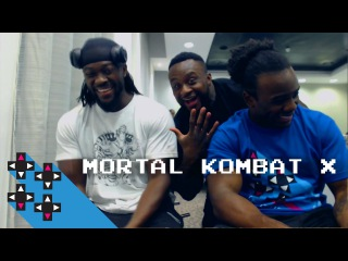 Kofi Kingston (Mr. 24/7) & Austin Creed's MKX Rivalry Continues — Gamer Gauntlet