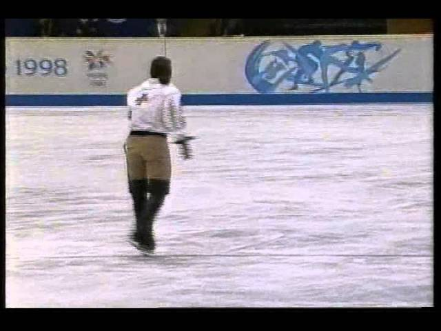 Philippe Candeloro (FRA) - 1998 Nagano, Figure Skating, Mens Free Skate