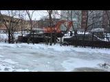Затоп на учебной в Омске: всё становится хуже