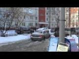 Затоп на Учебной в Омске 09.02.2016