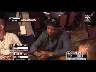 Покер турниры 2015 на реальные деньги. World Series Of Poker 2015 Main Event Episode 2 Full HD