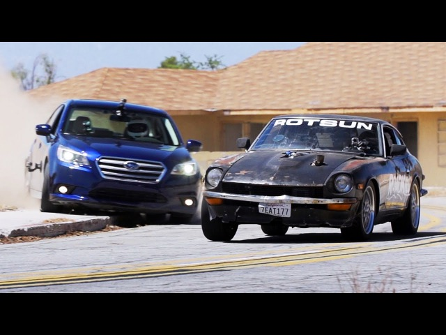 2015 Subaru Legacy Challenges the Roadkill Project Cars! - Roadkill Ep. 32