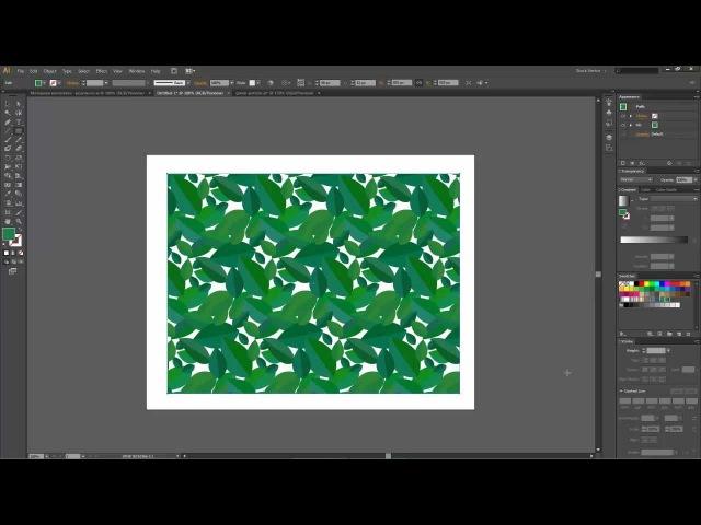 Создание паттерна в Illustrator CS6