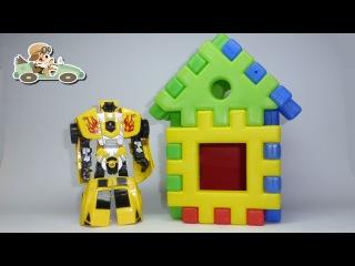 Мультики Машинки Трансформеры Рэтчет и Фолен Transformers Ratchet and Fallen Машинки Трансформеры