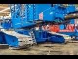Incredible RC crane! LARGE R/C machine! Liebherr LR 1750