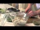 Салат из кальмаров двумя способами