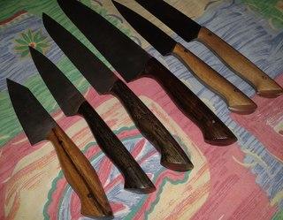 ручки на ножи своими руками