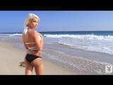 Taylor Seinturier on the beach [720p]