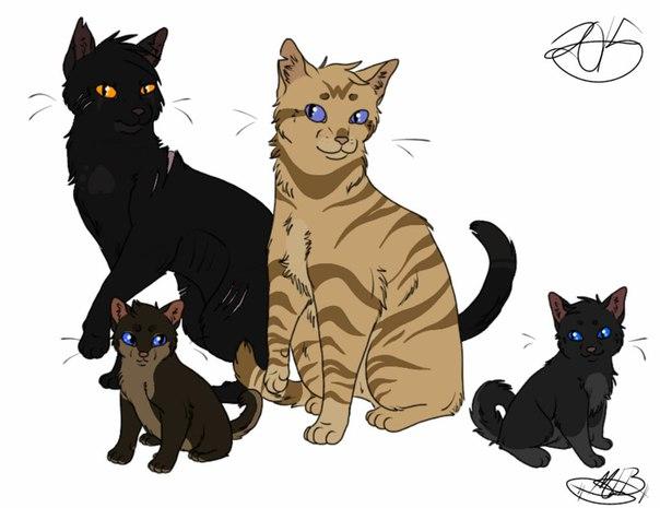 Коты воители верескоглазка и ветерок