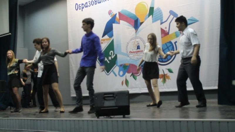 Репетиция танца на последний звонок 11 класс 2015