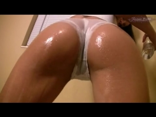 Sexy brazilian babe janessa brazil all oiled up at dansmovies porn tube